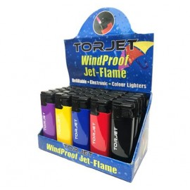 Torjet Windproof Jet Flame Refillable Lighter Smokers